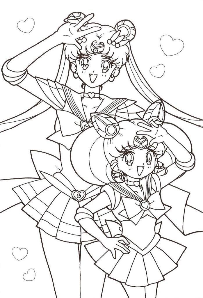 Sailor Moon Coloring Page Sailor Moon Coloring Pages Moon Coloring Pages Cartoon Coloring Pages