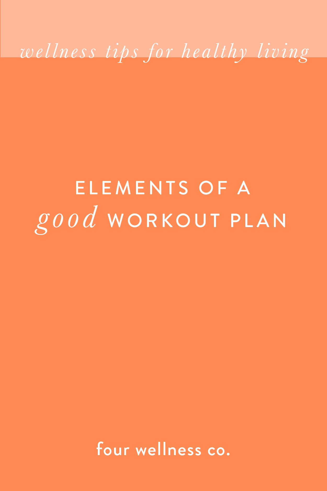 The essential elements of a good workout plan // What to include in your fitness plan + recommended...