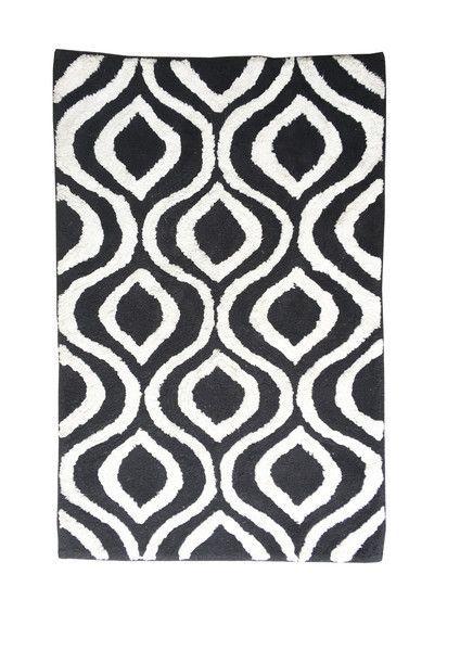 Hagia Midnight bath carpet | Departures & Arrivals