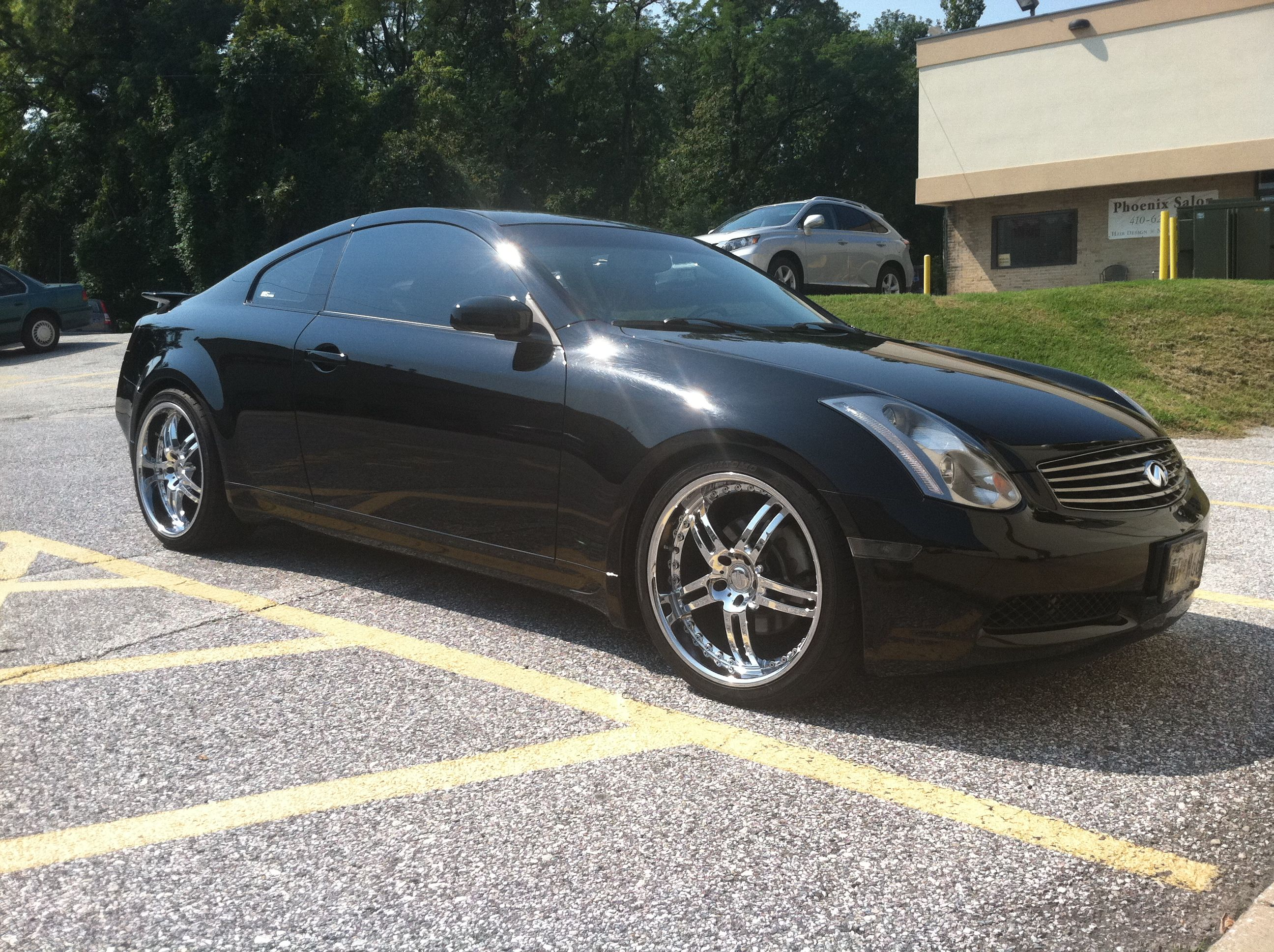 05 G35 Coupe Supercharged Black 2005 Infiniti G35