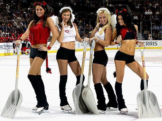 hockey ice Hot girls