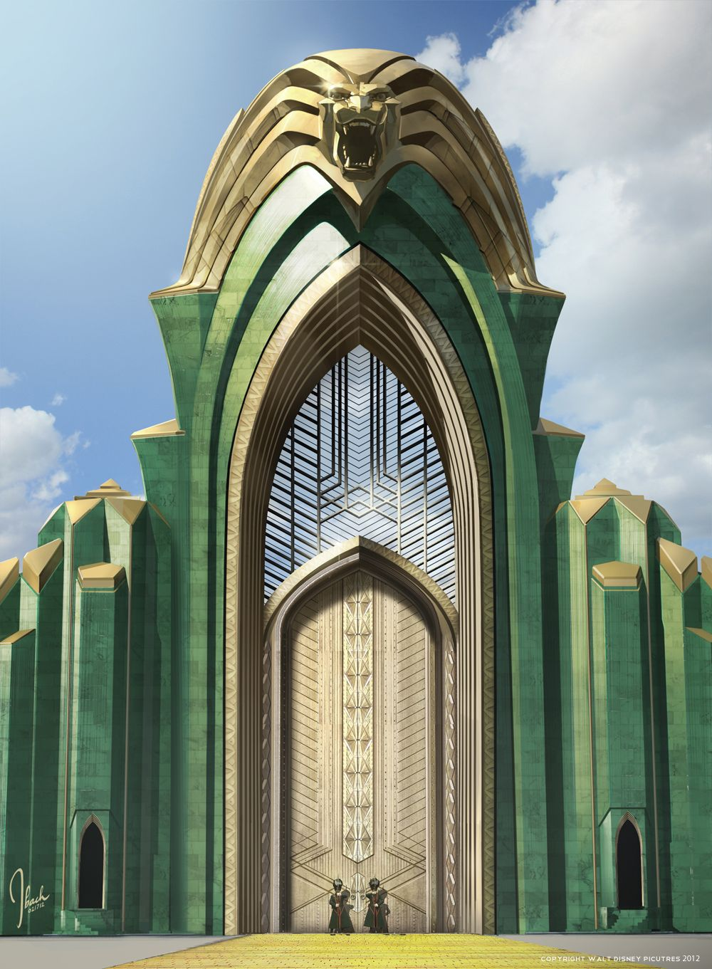 Art Deco Emerald City Oz