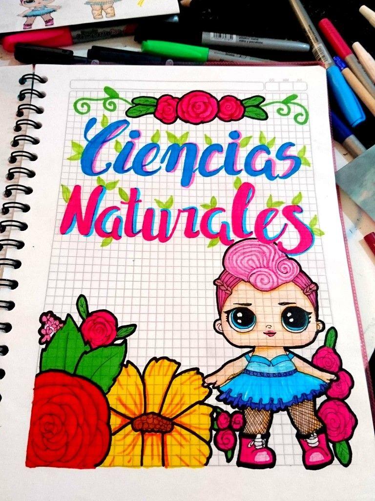 Portadas Carátulas Cuadernos De Ciencias Naturales De Lol Cuadernos Creativos Formas De Marcar Cuadernos Marcas De Cuadernos