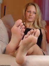 Ebony big feet