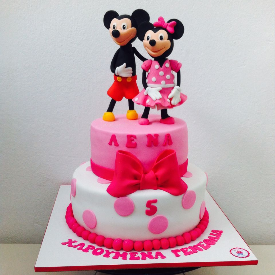 Mickey and minnie cake art mickey and minnie cake