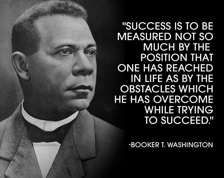 Image result for booker t washington quotes