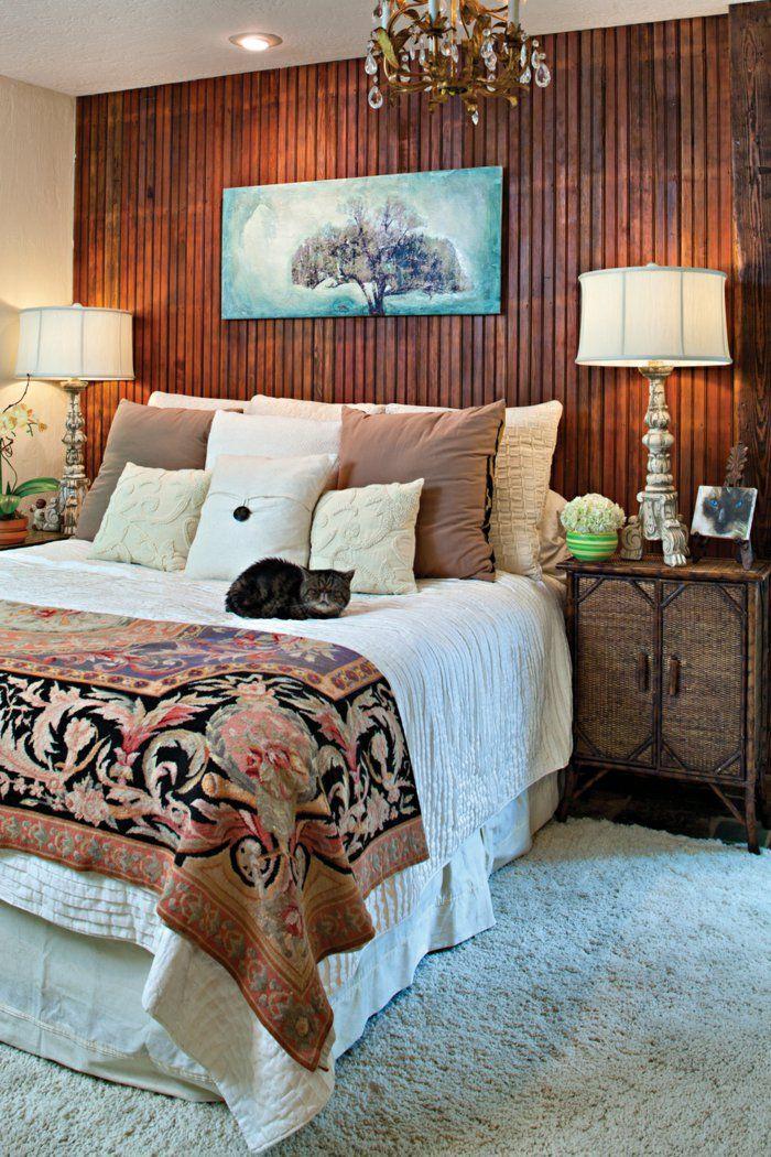 holz wandpaneele schlafzimmer wandverkleidung leuchter - teppichboden für schlafzimmer