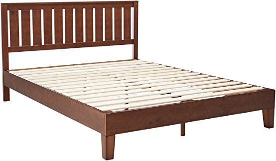 Zinus 12 Inch Deluxe Wood Platform Bed With Headboard No Box
