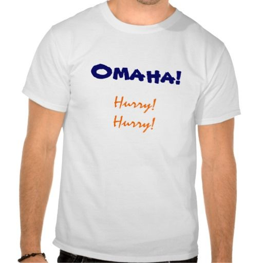 Omaha Hurry Shirt by State Affair. Go Broncos! Thank you to the buyer (from Illinois) of 4 of these shirts!