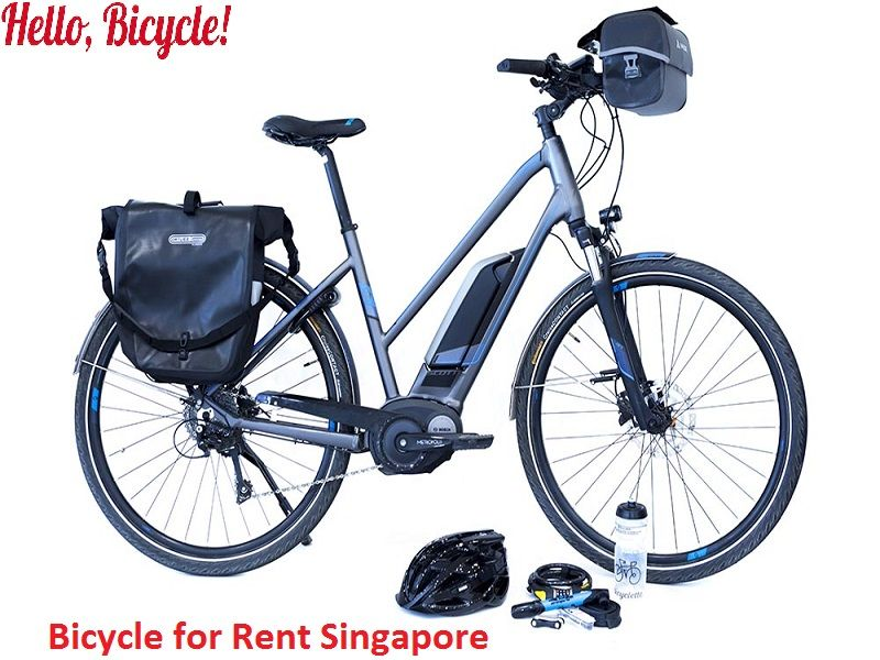 Bicycle for rent singapore bicycling around town or