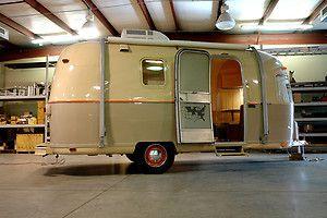 Vintage 1972 20ft AIRSTREAM ARGOSY Travel Trailer RV -- this