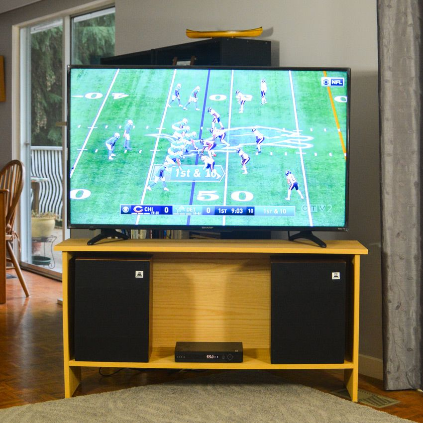 Building Furniture With Double Sided Hardwood Plywood TV