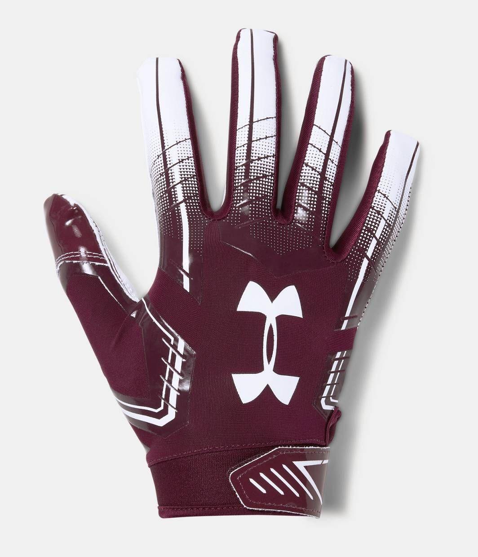 Mens ua f6 football gloves in 2020 football gloves
