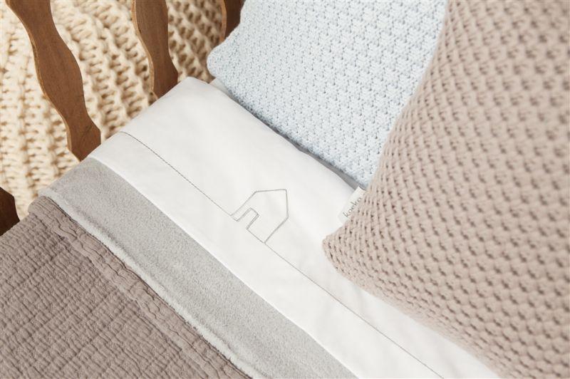 Ledikantlaken @Home. Dit lakentje is perfect te combineren met onze Koeka dekens. Bij elke kleur deken hebben wij bijpassende lakentjes. http://www.babyandkidsonline.nl/ledikantlaken-at-home