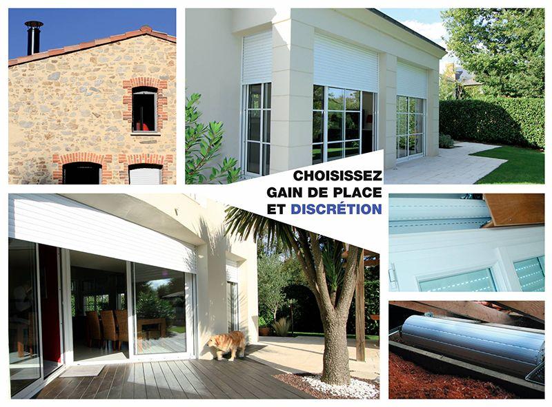 pose volet roulant pvc ou alu sur mesure volets outdoor decor garage doors et doors. Black Bedroom Furniture Sets. Home Design Ideas
