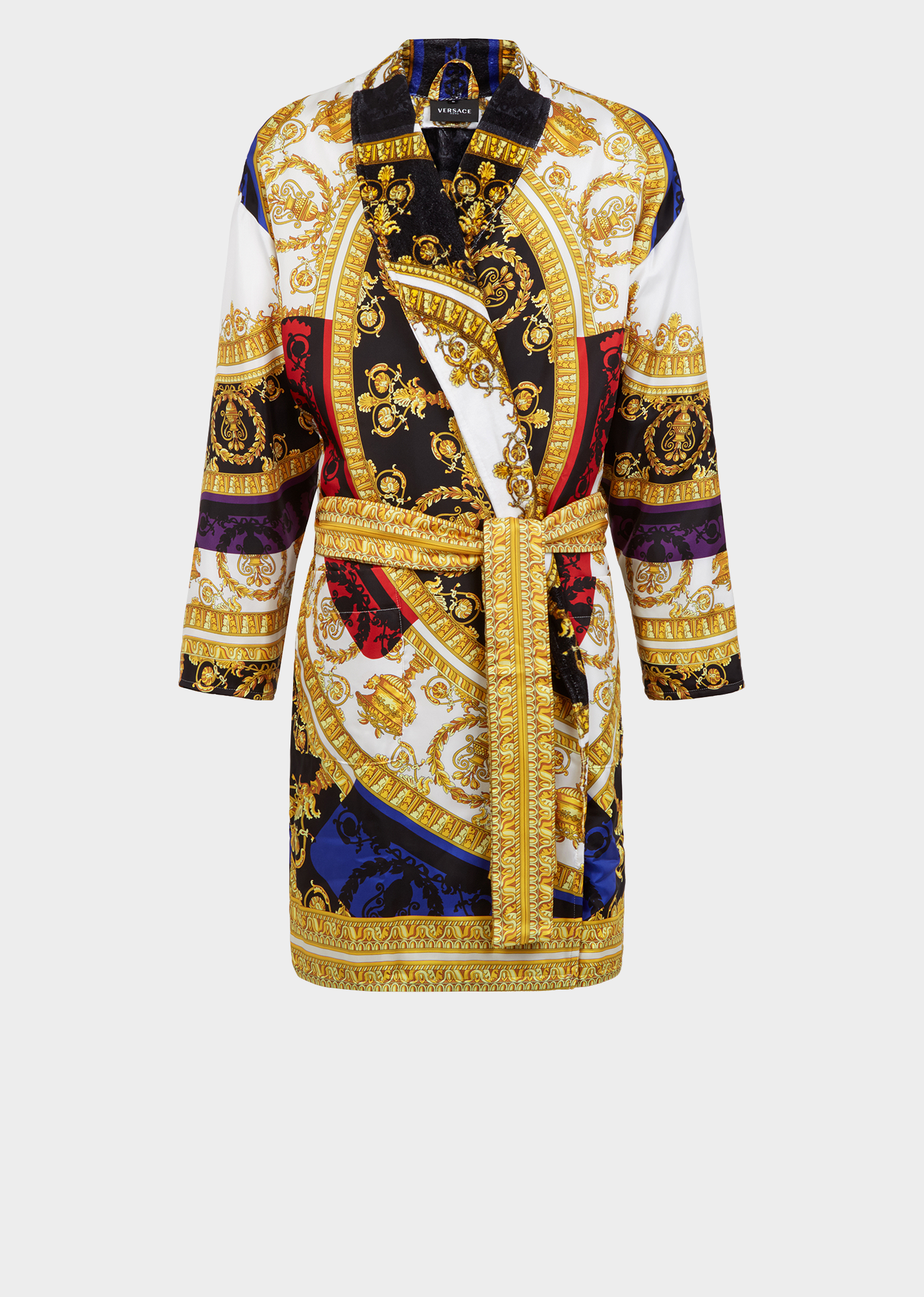 75f0813a Silk I ♡ Baroque Bathrobe - Gold Bathrobes Versace Robe Mens, Versace  Dress, Versace