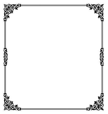 scroll border vector on vectorstock fun frames and borders rh pinterest com vector borders and frames free download vector borders illustrator