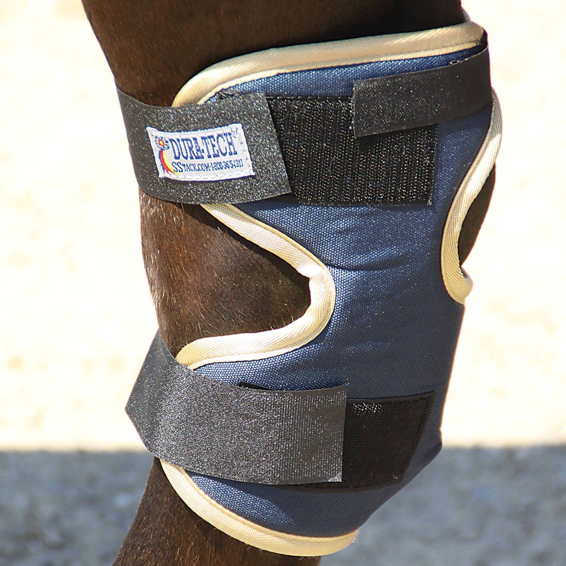 Dura Tech 174 Magnetic Hock Wraps 6 Magnets Horse Care