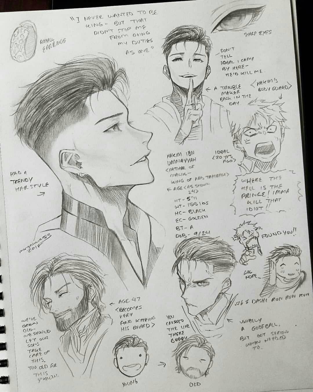 Drawing Hair 3 4 Drawings In 2020 Drawing Anime Bodies Anime Drawings Guy Drawing