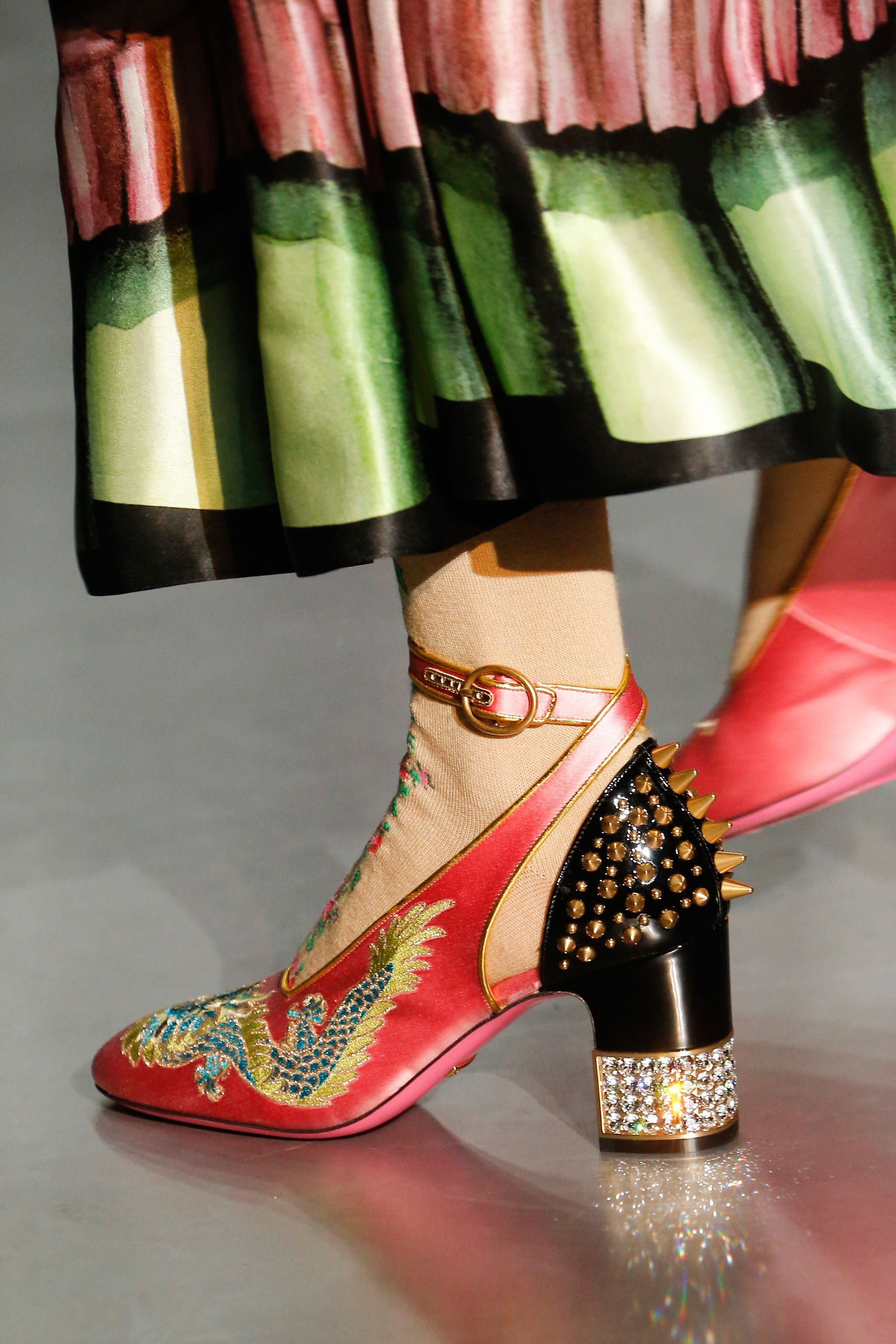 gucci 2017 shoes. gucci autumn/winter 2017 ready to wear details shoes f
