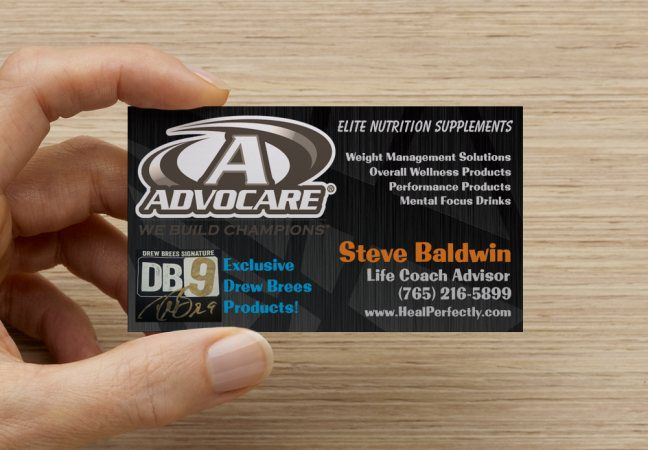 17 Best images about Tankprints Advocare business cards on ...