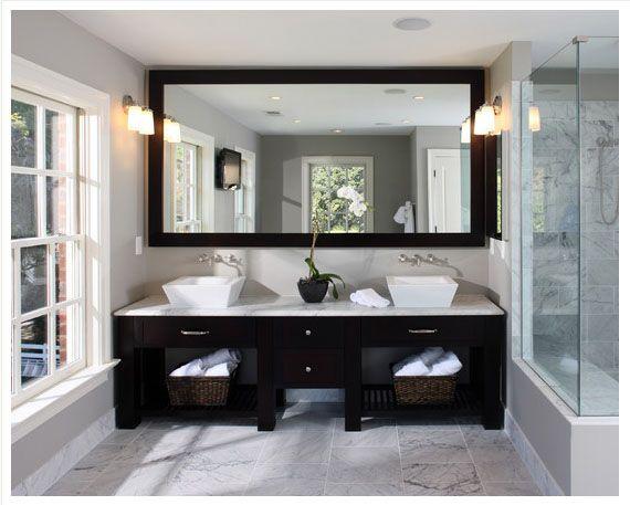How To Remove Mirror Scratches Bathroom Remodeling Trends Large Bathroom Mirrors Contemporary Bathroom