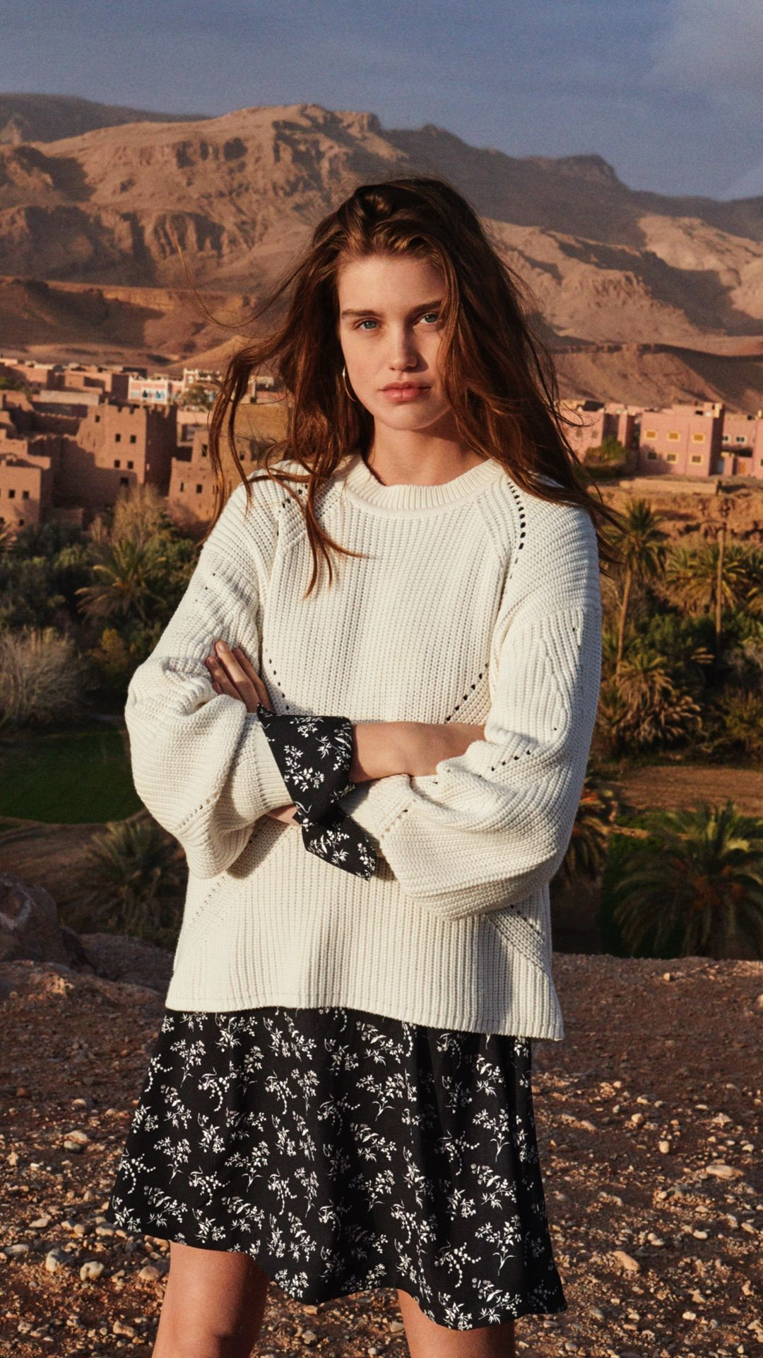 H&m Online In Usa Bohemian Details Breezy Fabrics And Slouchy Silhouettes