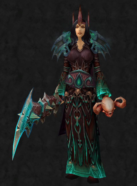 Transmog Ideas World Of Warcraft Cloak Circlet