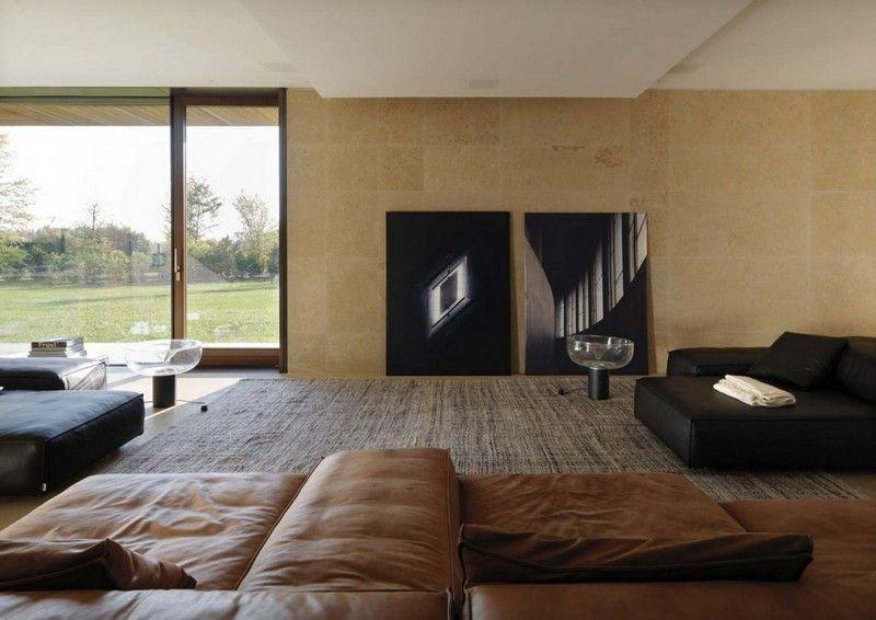 Uncategorized : K\u00fchles Wohnzimmer Braun Beige Einrichten