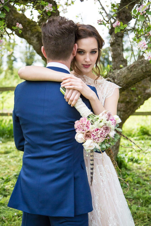 Fleur wedding dress  Rembo Wedding Dresses For A Bohemian Outdoor Wedding Inspiration