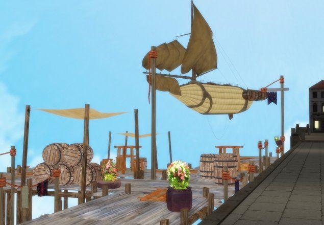 Airship Pier - #Steampunk audio atmosphere
