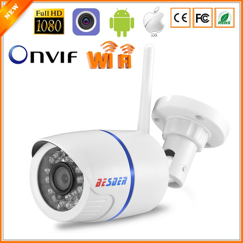 Camera Ip Exterieur Onvif Besder P2p Onvif Con Slot Per Schede Sd Ip Camera Wireless Outdoor