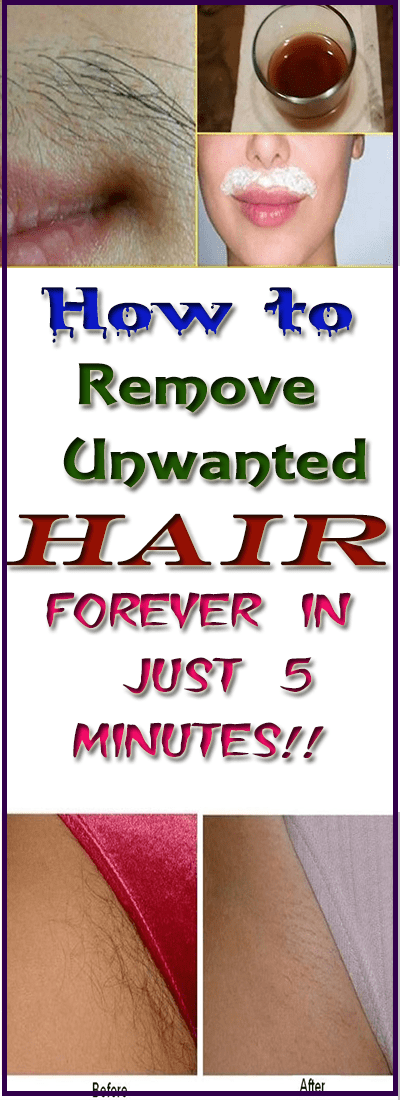 How to Remove Unwanted Hair Forever in Just 5 Minutes!!  #life_hacks  #fitness #SimpleBeautyTips