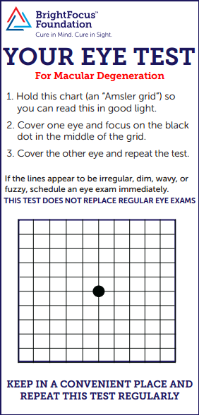 The Amsler Grid Can Help Detect Early Signs Of Retinal Disease And