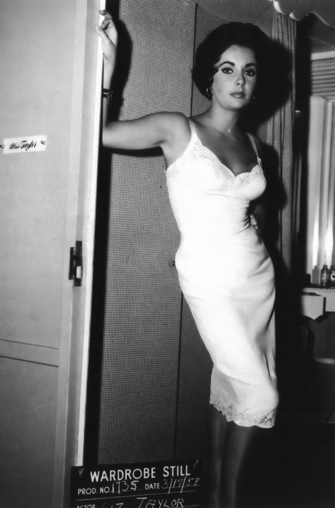 Miss Taylor, 1958.