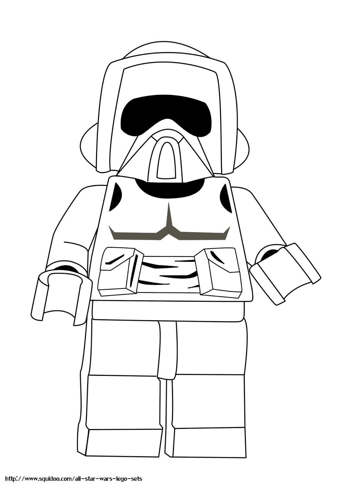 LEGO Star Wars Printable Coloring Pages Lego Star Wars