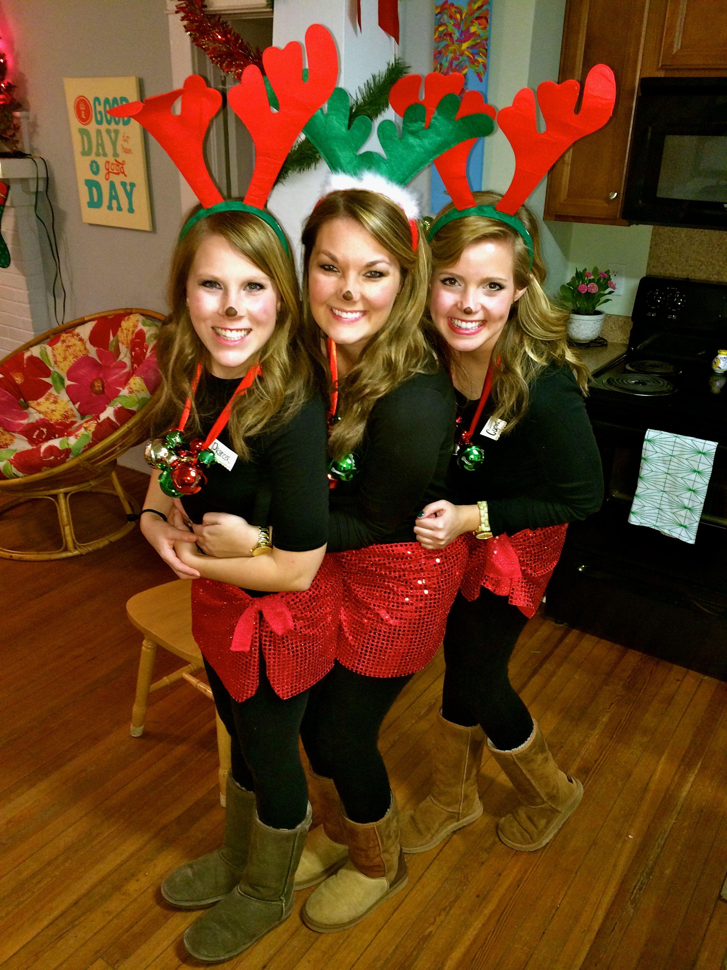 Tacky Christmas Reindeer! Tacky christmas outfit, Tacky