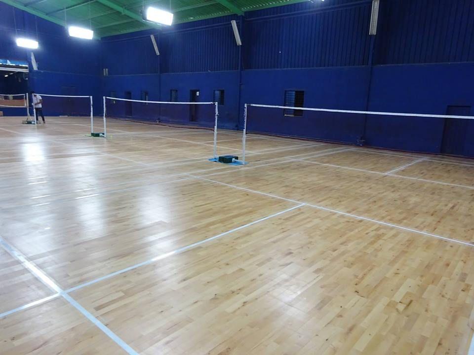 Star Badminton Academy 4 Wooden Badminton Courts Sarjapura Road Bangalore Playo In 2020 Badminton Court Badminton Court