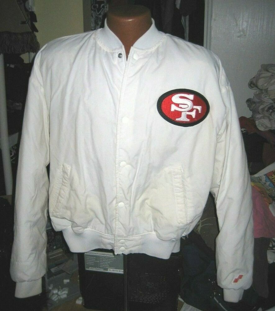 sports shoes 57c27 51cd4 VINTAGE 80S 70S SAN FRANCISCO 49ERS JACKET BY SWINGSTER ...