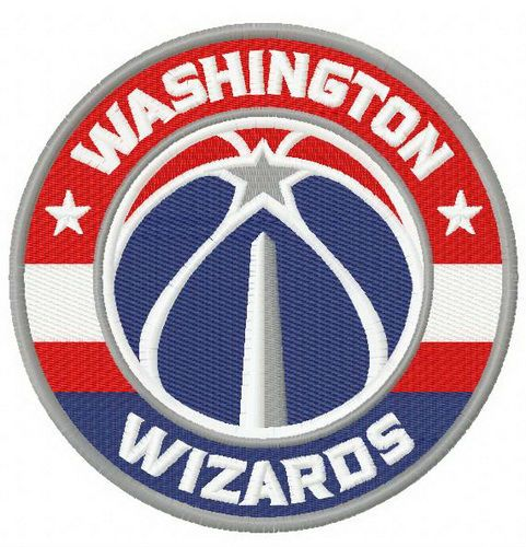 Washington Wizards Logo 3 Embroidery Design Washington Wizards Wizards Logo Machine Embroidery Designs