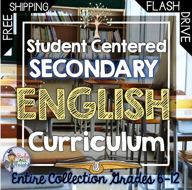 Secondary English Curriculum, ELA for the Entire Year and