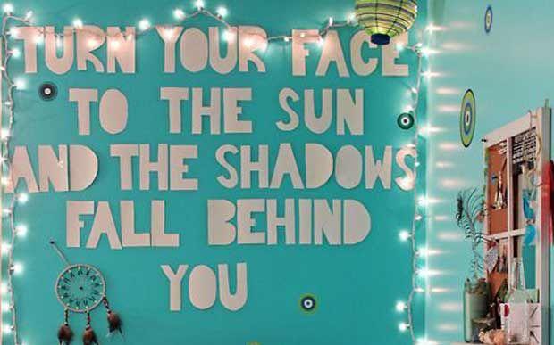 It quarto: paredes escritas para você se inspirar - Voce - CAPRICHO