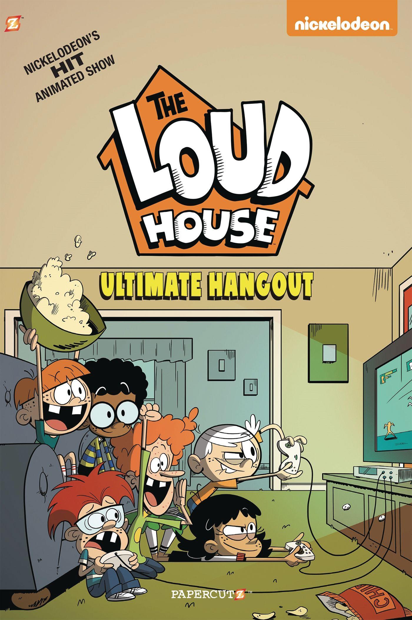 Jeux Bienvenue Chez Les Loud : bienvenue, FEB201901, HOUSE, ULTIMATE, HANGOUT, Previews, World, House, Fanart,, Characters,, Books