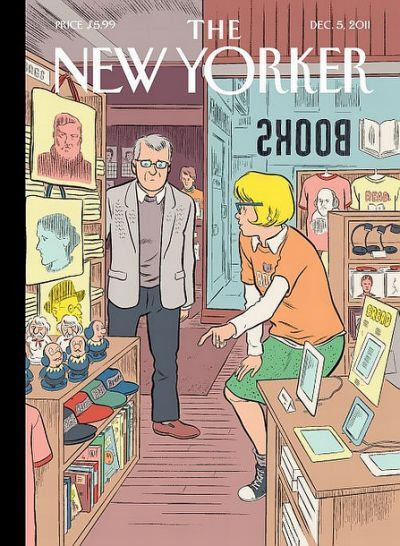Dan Clowes covers the New Yorker