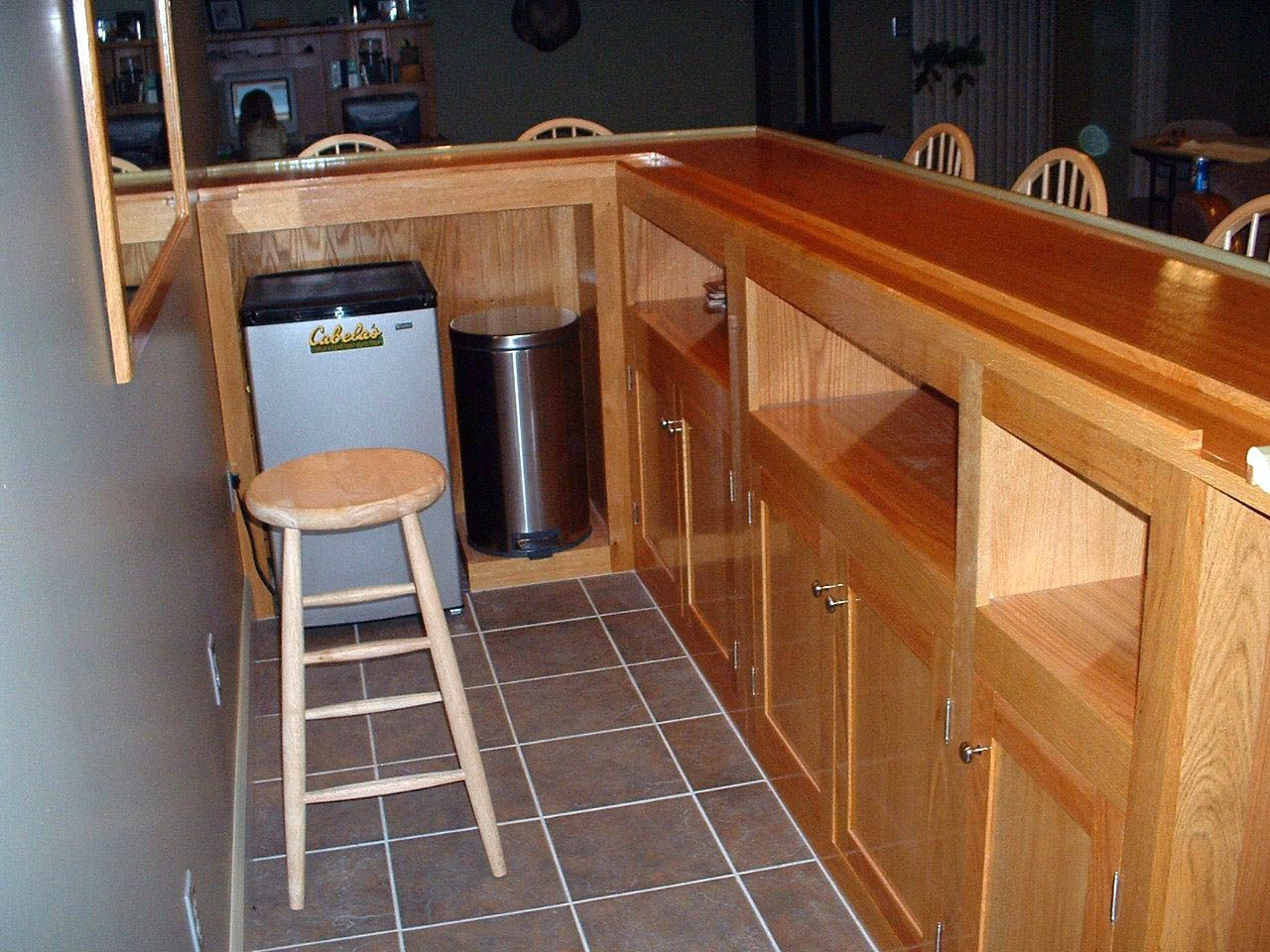 Fantastic Basement Pull Up Bar Joist One And Only Homesable Com Building A Home Bar Home Bar Plans Bar Plans