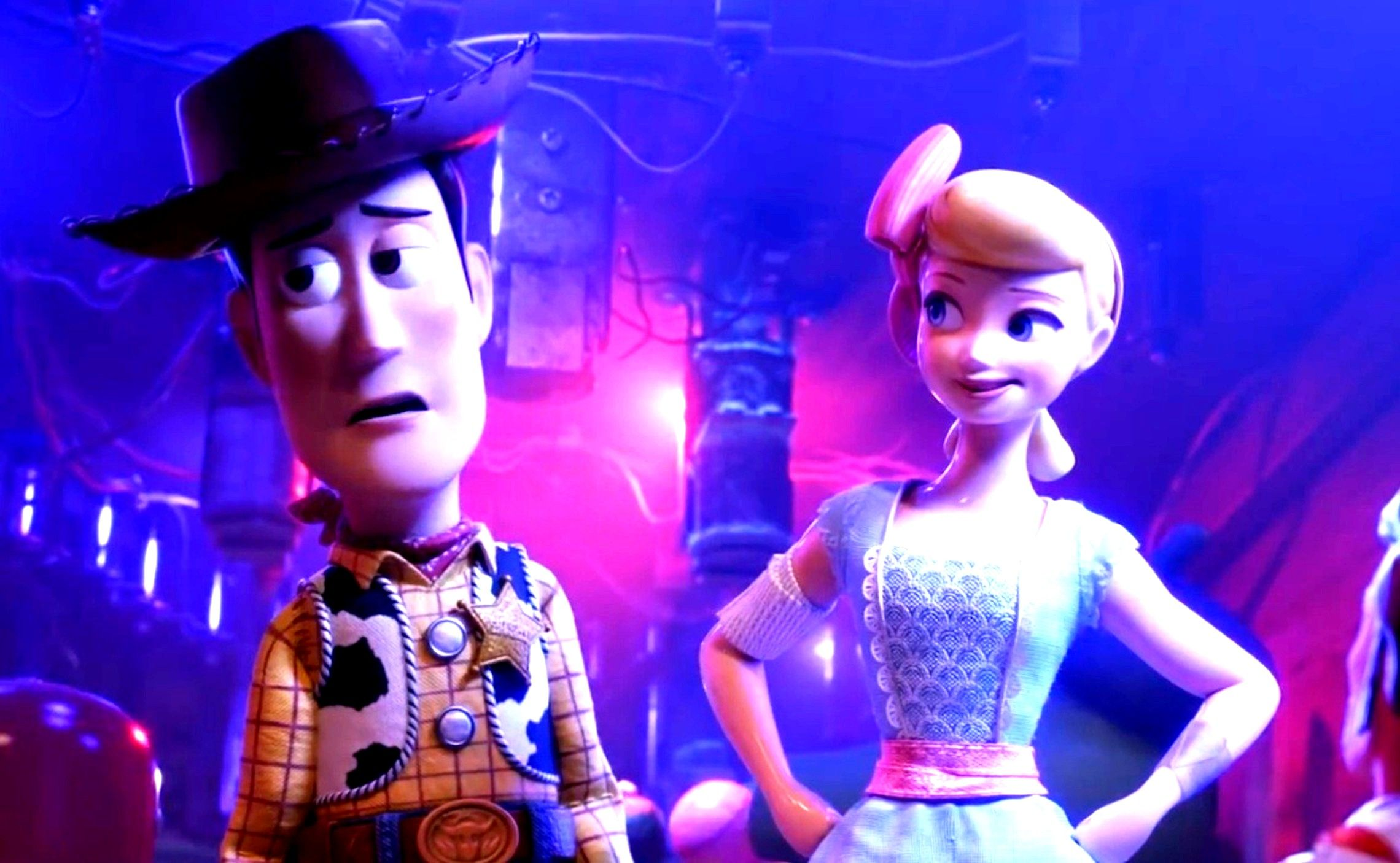 Toy Story 4 Little Bo Peep And Sheriff Woody Pride Bo Peep Toy Story Toy Story Sheriff Woody Pride