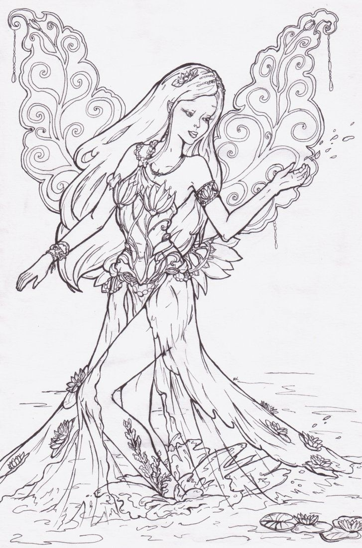 """ink That's just line art, but I hope I'll upload colour soon ^^ Anyway Az'ria Caeleninsell is Midnight's daughter and she's half-elf. Her name means """"Unwilling Sunlight"""", while the surname- """"Daught..."""