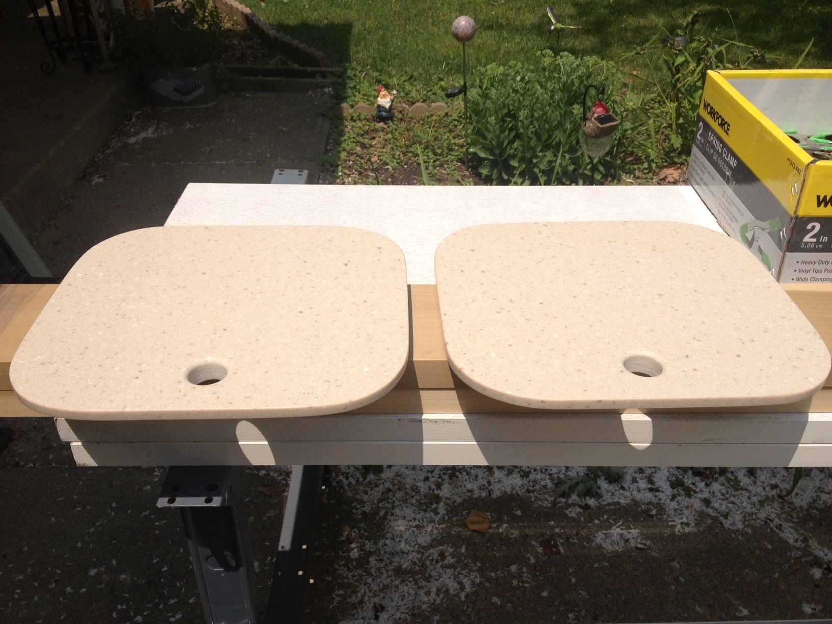Corian Sink Inserts For Pop Up Camper Made For Customer