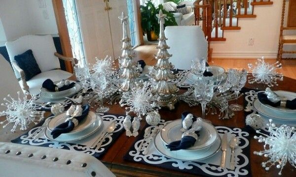 Explore Christmas Tablescapes And More