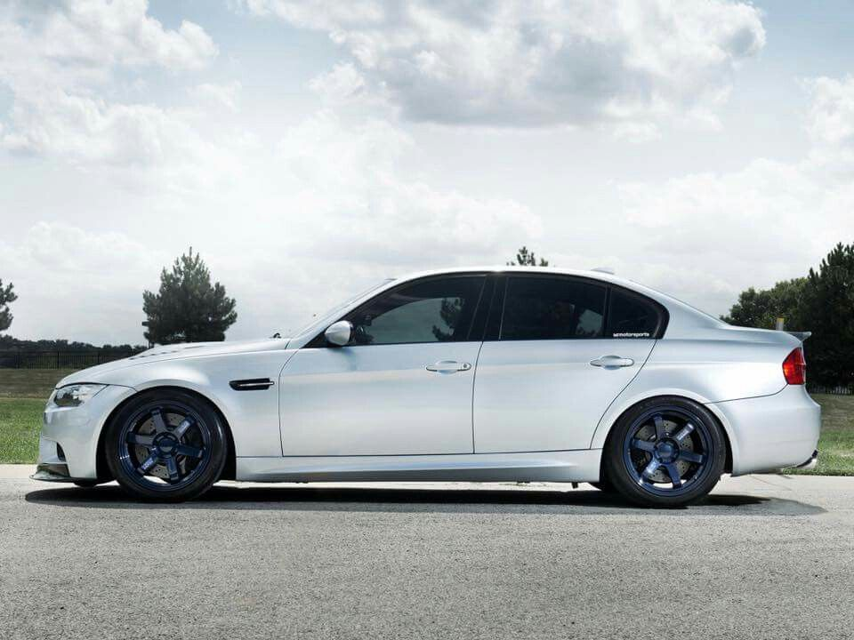 Bmw E90 M3 Silver With Images Bmw Aftermarket Parts Car